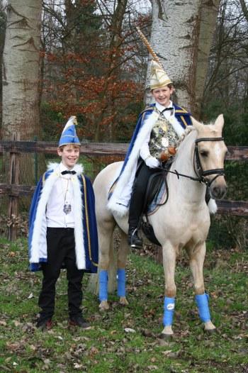Jeugdprins Koenie en Adjudant Coen 2014