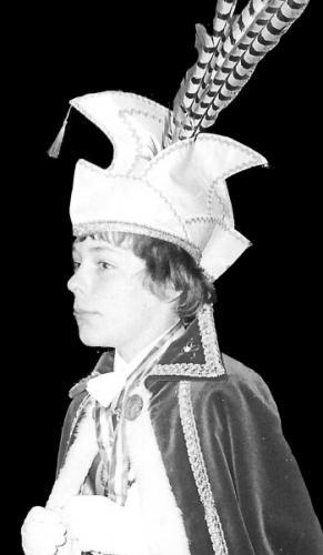 1976-1977 Z.D.H. Prins Guus 1 Guus Maas