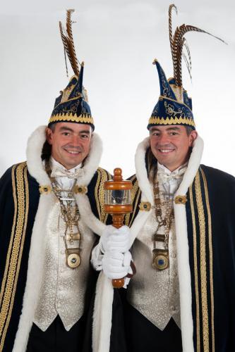 2016-2017 Eugène en Francois van Abeelen Z.D.H. Prins Populus I en II Liemt makt gin verschil!
