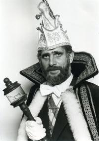 1986-1987 Wout van der Heijden Z.D.H. Prins Broer d'n Urste Liemt blèf drèije