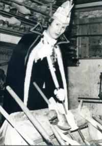 1972-1973 Wim Bax Z.D.H. Prins Willem d'n Urste Houw de klomp hôg